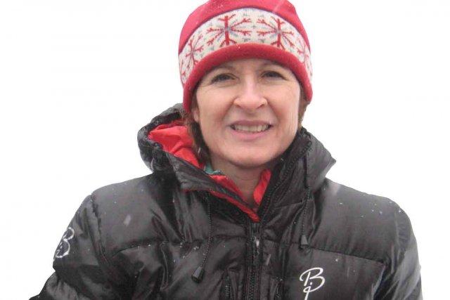 Deborah Robinet-Diggins, la mère de la skieuse Jessie... (Photo collaboration spéciale Ian Bussières)