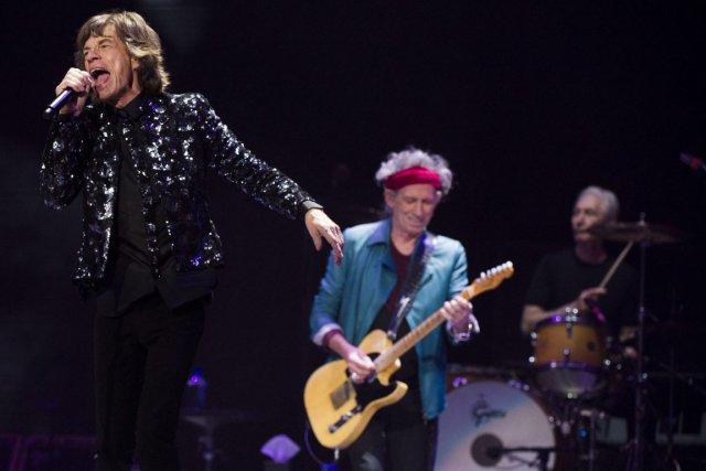 Les Rolling Stones font partie de la brochette... (Archives AP)