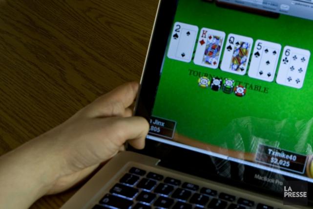 Est-ce que les jeux de hasard en ligne... (PHOTO ARCHIVES LA PRESSE)