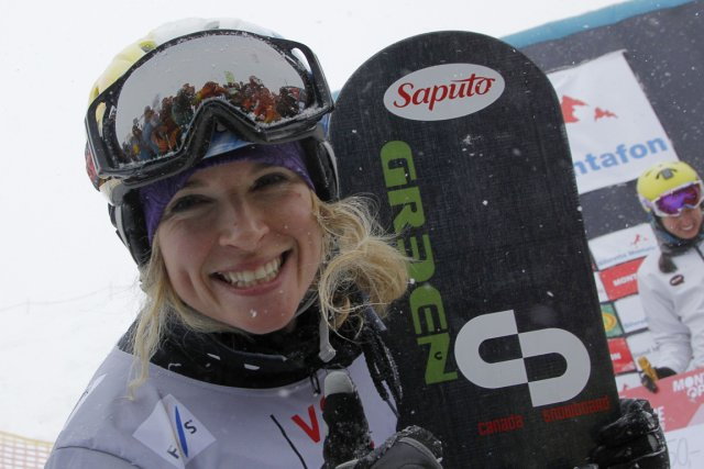 Dominique Maltais a remporté samedi la première épreuve... (Photo: AFP)