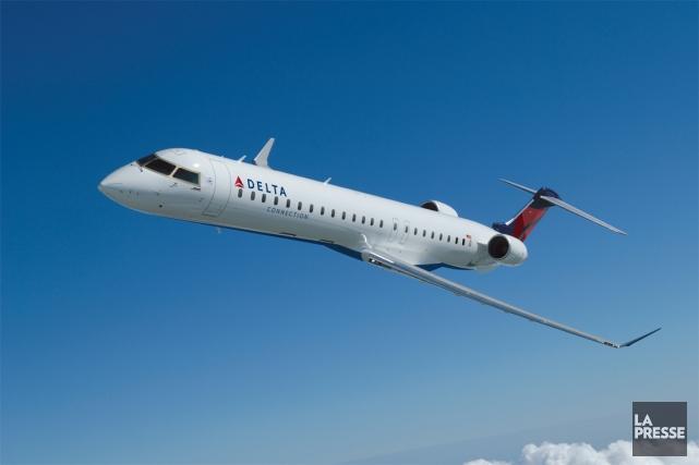 Un appareil CRJ900 de Bombardier.... (Photo fournie par Bombardier)