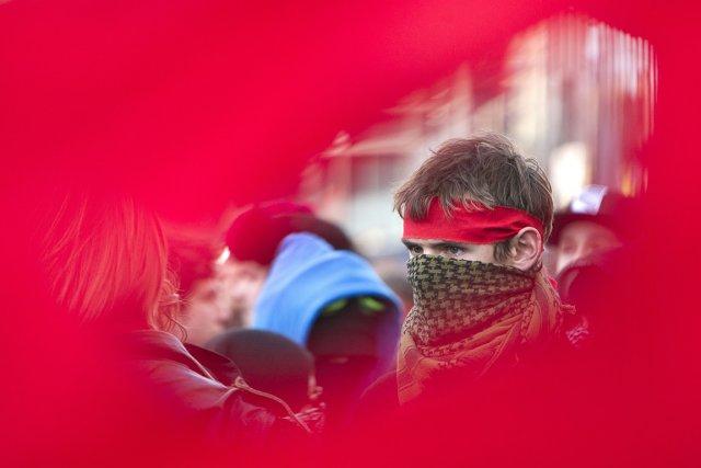 Selon la Fédération étudiante collégiale du Québec, l'ASSÉ... (Photo: Robert Skinner, archives La Presse)