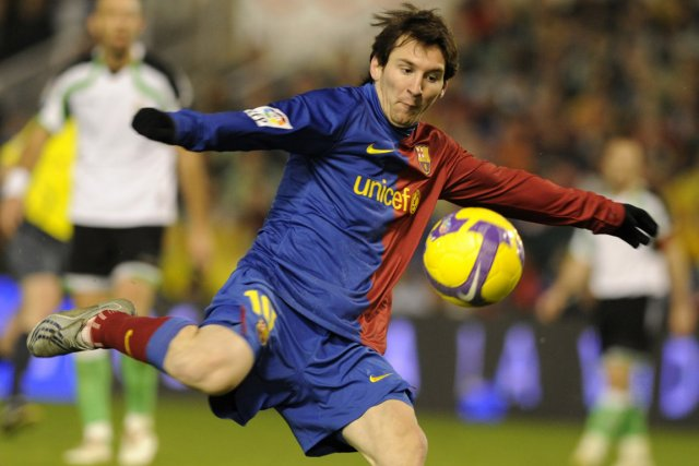 Lionel Messi... (Photo: AFP)