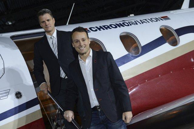 Les deux copropriétaires de Chrono Aviation, Dany et... (Photothèque Le Soleil, Patrice Laroche)