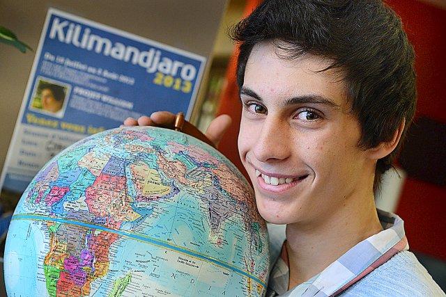 William Renaud, 16 ans, veut prouver que la... (Le Soleil, Patrice Laroche)