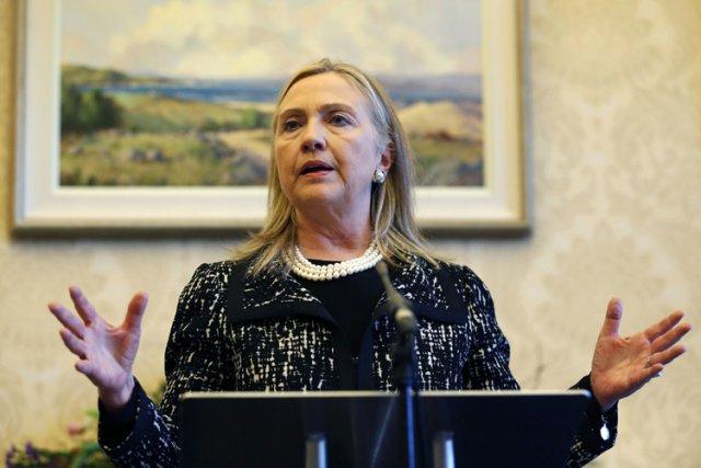 Hillary Clinton, âgée de 65 ans et qui... (Photo: AFP)