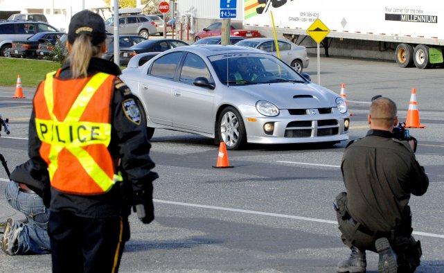 La scène de la collision avait été reconstituée,... (Archives La Tribune)