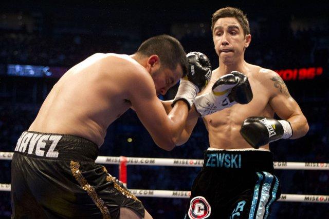 Mikaël Zewski n'avait fait qu'une bouchée de Cesar... (Photo: La Presse)