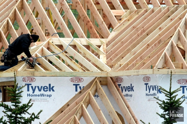 Depuis le début de l'année, 1161 maisons unifamiliales... (Archives AP)