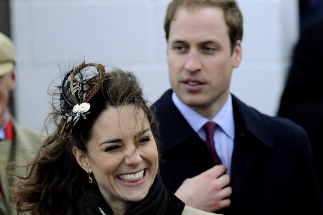 Kate Middleton et le prince William.... (Photo: Reuters)