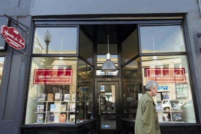 La librairie Appetite for Books est située sur... (PHOTO NINON PEDNAULT, LA PRESSE)