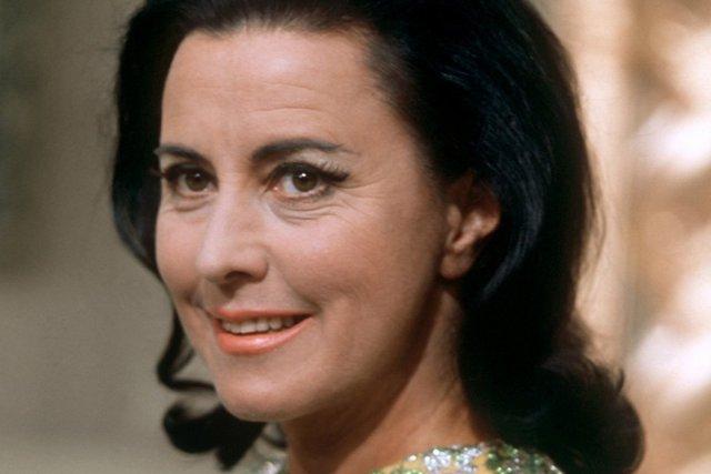 La cantatrice suisse Lisa Della Casa... (Photo: archives AFP)