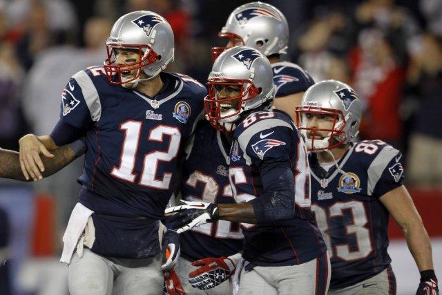 Les Patriots de la Nouvelle-Angleterre n'ont fait qu'une... (Photo: Reuters)