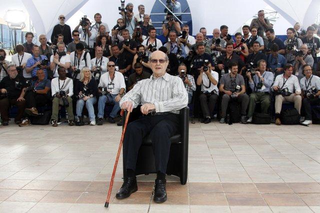 Manoel de Oliveira lors de sa participation au... (Photo: Reuters)