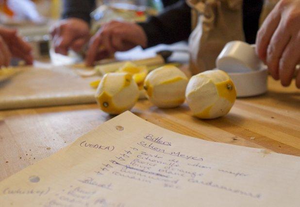Voici quelques recettes d'amers pour vos cocktails du temps des Fêtes. (Photo: Hugo-Sébastien Aubert, La Presse)