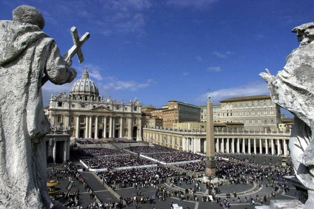 La place Saint-Pierre au Vatican.... (Photo: AP)