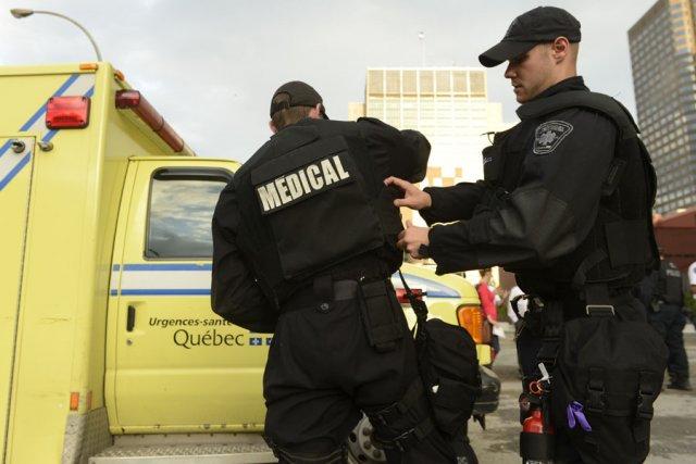 Les ambulanciers sont sans contrat de travail depuis... (photo archives La Presse)