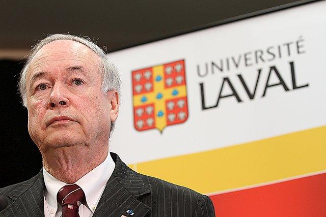 Le recteur de l'Université Laval Denis Brière... (Photothèque Le Soleil, Jocelyn Bernier)