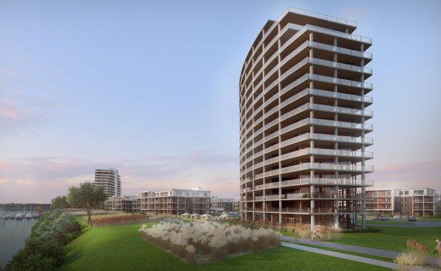 Les premières phases du développement résidentiel jouxtent la... (Graph Synergie 2012)