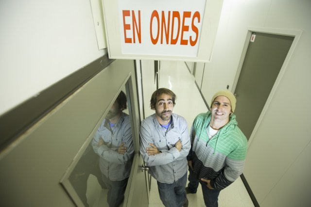 Benjamin Rochette et Jean-Michel Péloquin sont en quête... (Photo: Ivanoh Demers, La Presse)