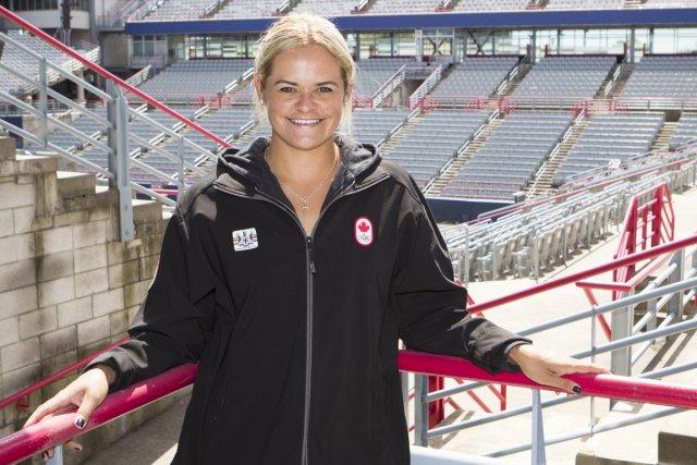 Aleksandra Wozniak a été nommée la joueuse de... (Photo: Ninon Pednault, La Presse)
