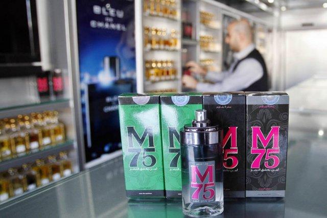 Le nouveau parfum de l'heure à Gaza, le... (PHOTO AHMED ZAKOT, REUTERS)