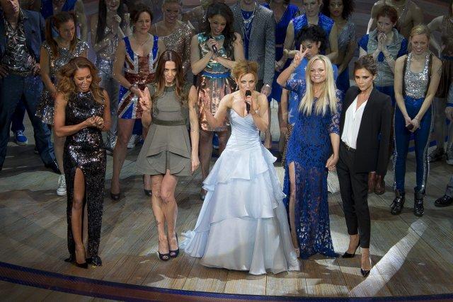 Les Spice Girls à la première de Viva... (Photo: AP)