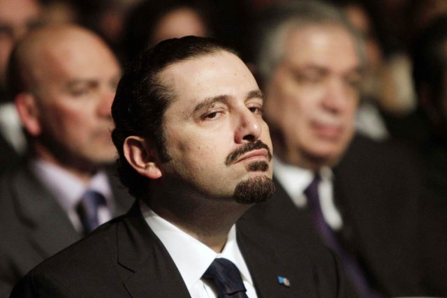 L'ancien premier ministre libanais Saad Hariri.... (PHOTO JOSEPH EID, ARCHIVES REUTERS)