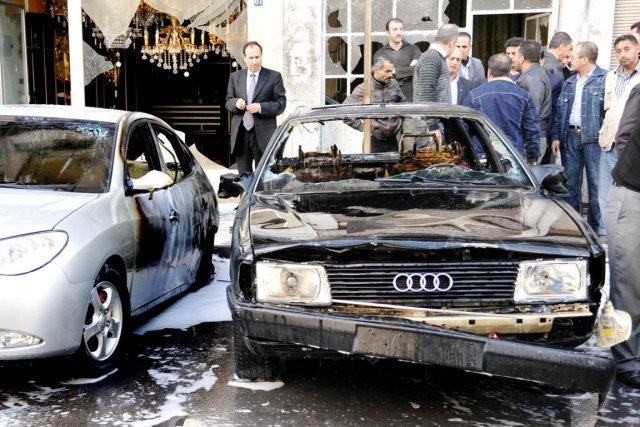Depuis le début de la révolte contre le... (PHOTO AFP/SANA)