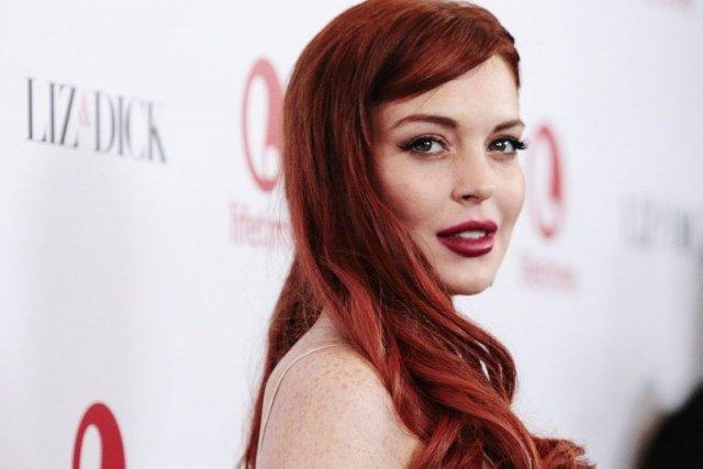 Lindsay Lohan à la première de Liz &... (Photo: AP)