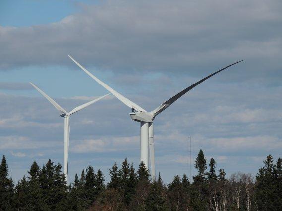 Hydro-Québec achètera l'électricité du projet éolien de l'Érable à 11,9... (Archives La Tribune)