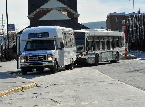 Les usagers de la Société de transport de Sherbrooke encaisseront, dès le 1er... (Imacom, Claude Poulin)