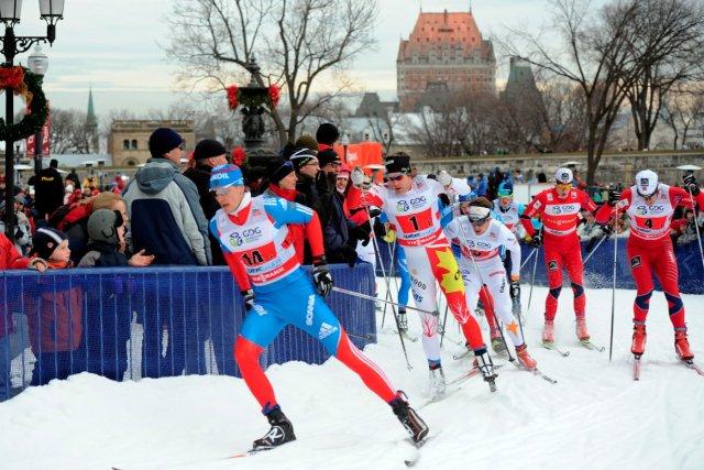 La Coupe du monde de ski de fond... (Le Soleil, Erick Labbé)