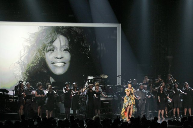 C'est Whitney Houston qui a été l'objet de... (PHOTO MATT SAYLES, ARCHIVVES AP)