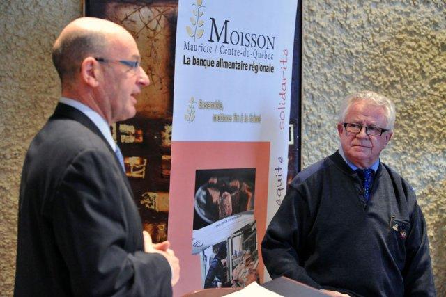Le maire de Trois-Rivières, Yves Lévesque, a confirmé... (Photo: Stéphane Lessard)
