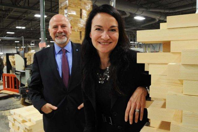 Le président de la CPMT, Jean-Luc Trahan, et... (Photo: Sylvain Mayer)