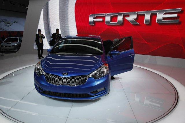 La deuxième génération de la Kia Forte est... (Photo Reuters)