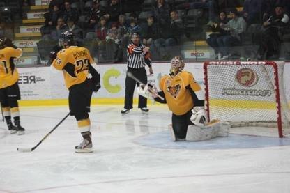 Les Tigres de Victoriaville ont disputé deux excellentes périodes de hockey,... (La Tribune, Yanick Poisson)