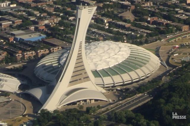 Le Stade olympique de Montréal.... (Photo archives La Presse)