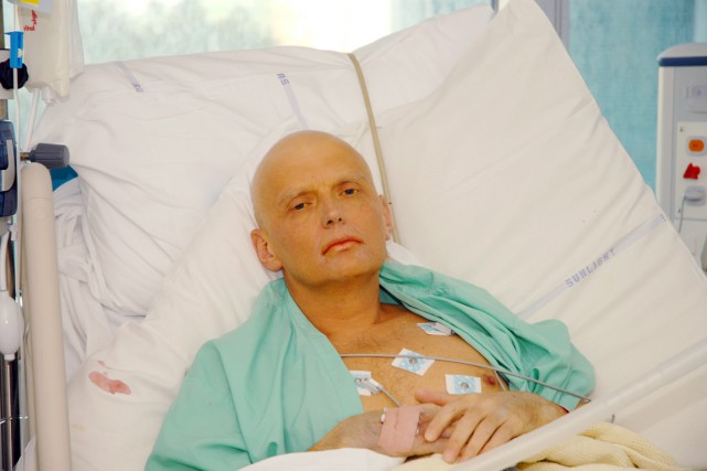 Alexandre Litvinenko avait succombé à un empoisonnement au... (PHOTO ARCHIVES BLOOMBERG NEWS)