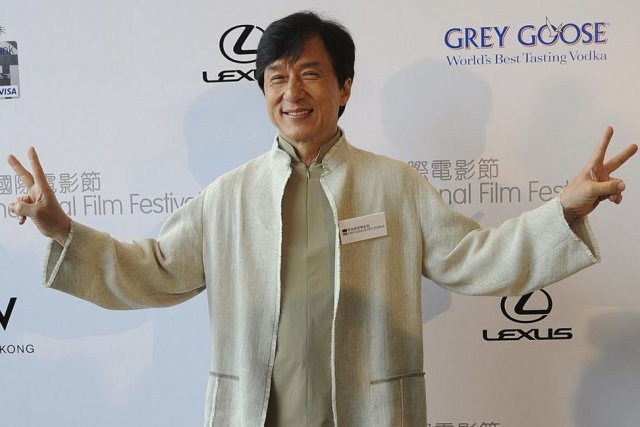 Jackie Chan... (Photo: AFP)
