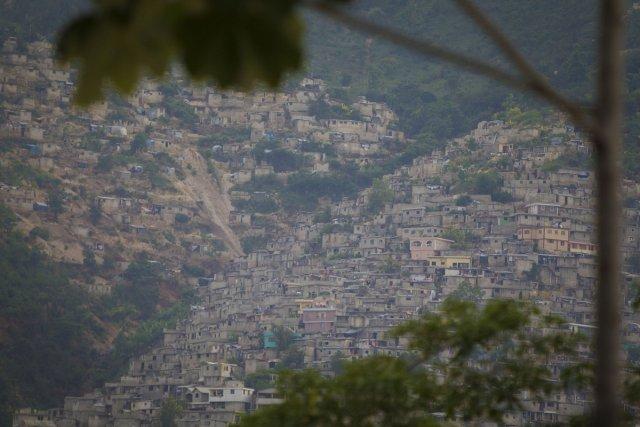 La ville de Port-au-Prince, photographiée en 2012.... (Photo: André Pichette, La Presse)