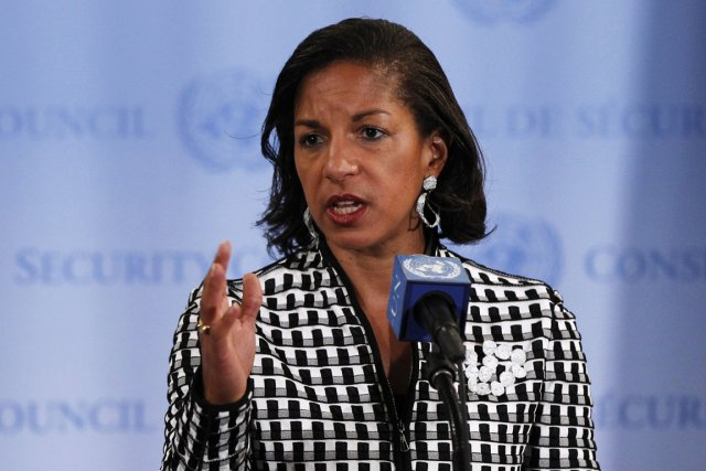 Susan Rice,ambassadrice des États-Unis à l'ONU.... (PHOTO LUCAS JACKSON, REUTERS)