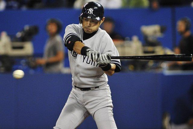 Le voltigeur Ichiro Suzuki a conclu une entente de deux saisons d'une valeur de... (PHOTO ARCHIVES AP)