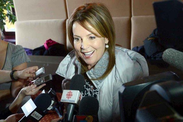 La chef et fondatrice de Démocratie Québec, Anne... (Le Soleil, Patrice Laroche)