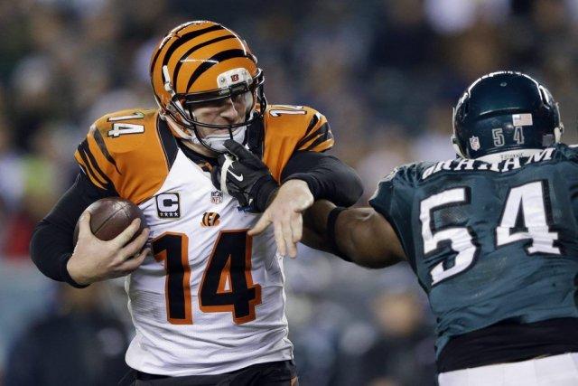 Les Bengals de Cincinnati ont réglé le cas... (Matt Rourke, AP)