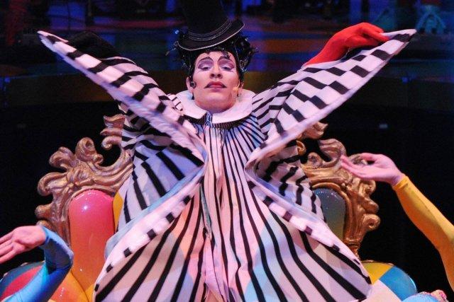 Spectacle phare du Cirque du Soleil qui a fait le tour du monde et rejoint 14... (Photo: AFP)