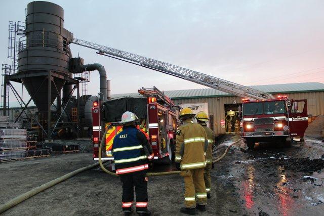Le Service de protection contre les incendies de Sherbrooke (SPIS) a encore été... (La Tribune, René-Charles Quirion)