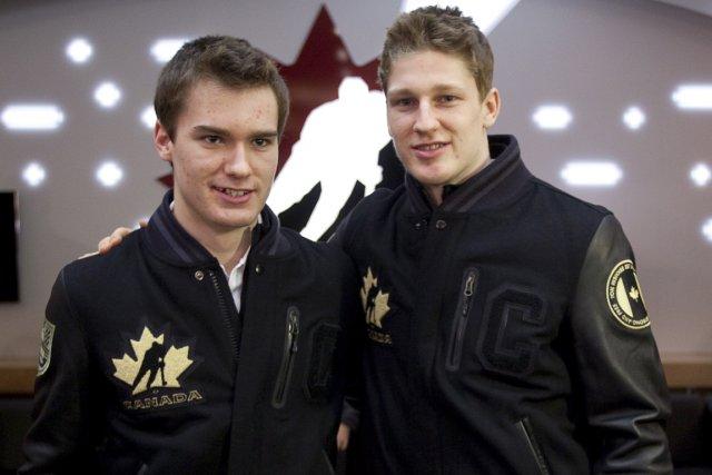 Jonathan Drouin et Nathan MacKinnon, qui sont âgés... (Photo: PC)