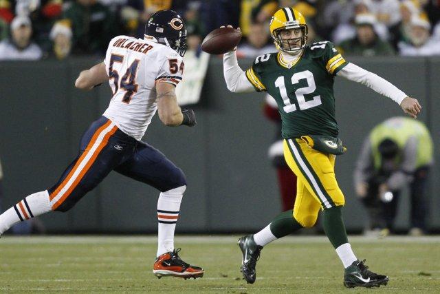 Les Packers de Green Bay affrontent les Bears... (Photo: AP)